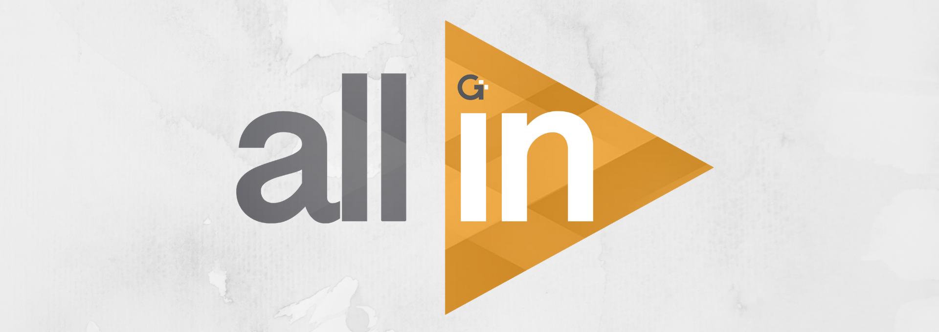 All In - January 2019 logo