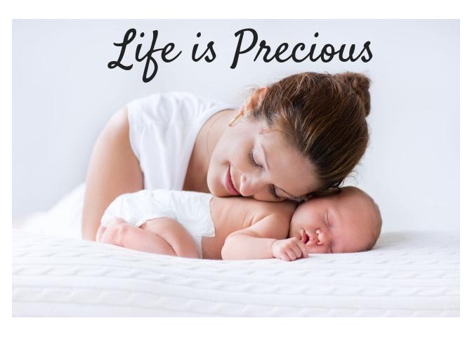 Life is Precious Banquet logo
