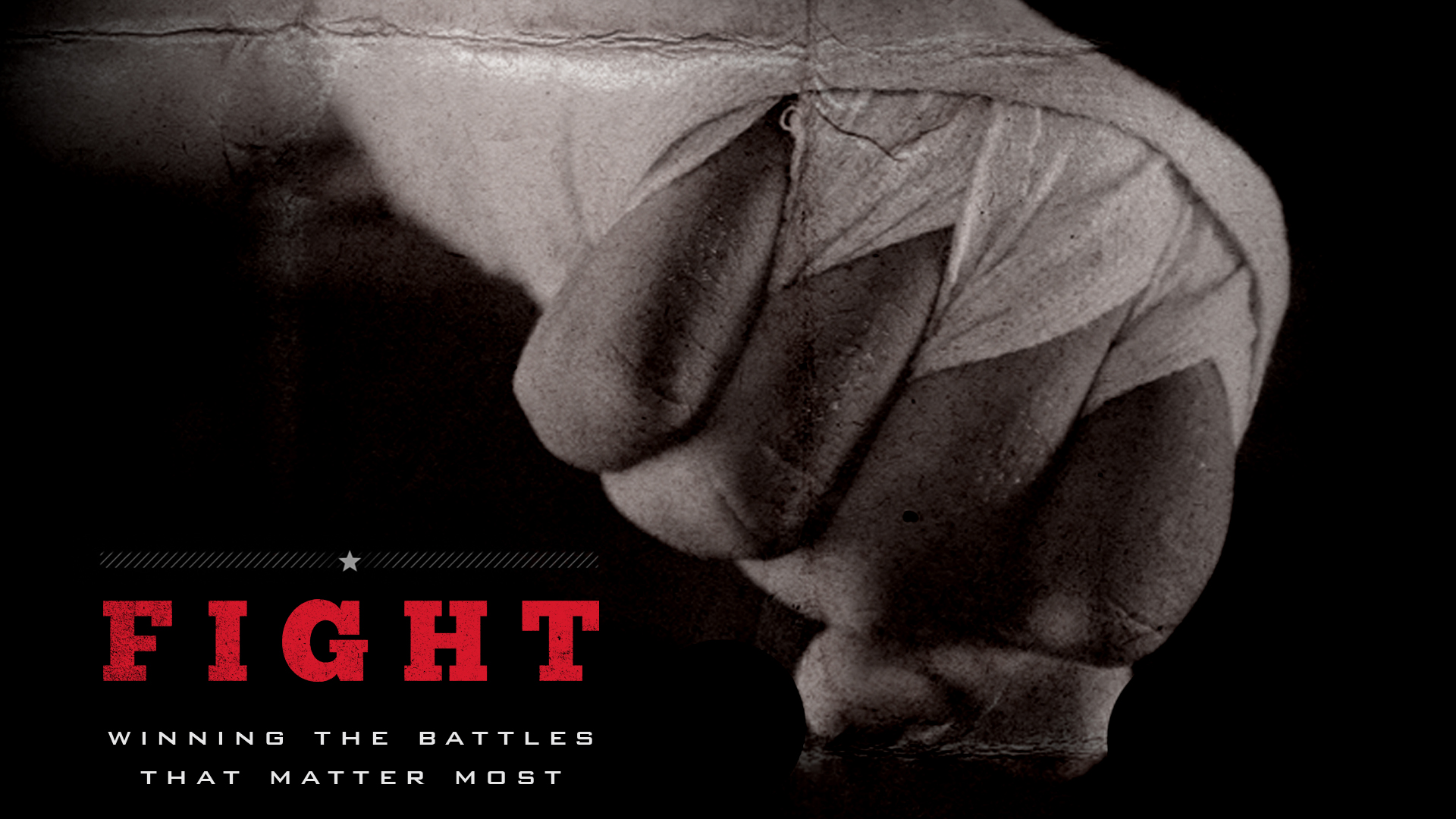 Fight :: Men's Small Group logo