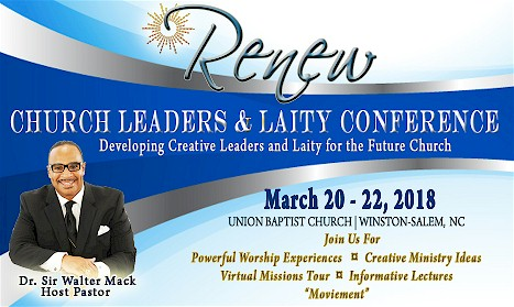 THE RENEW CHURCH LEADERS AND LAITY CONFERENCE logo
