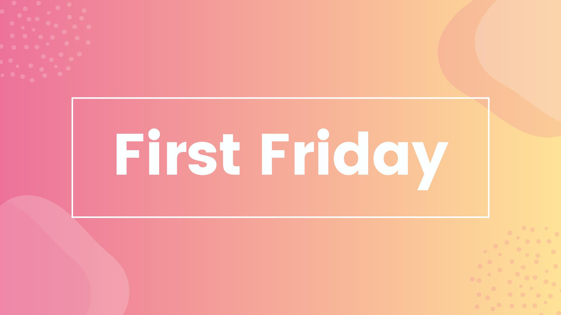 First Friday - November 2020 logo