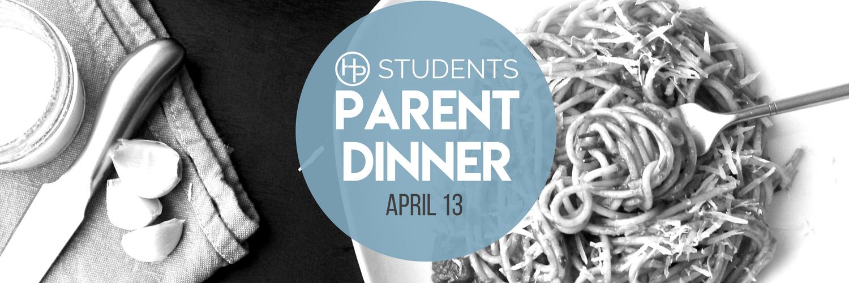 Student Parent Dinner logo
