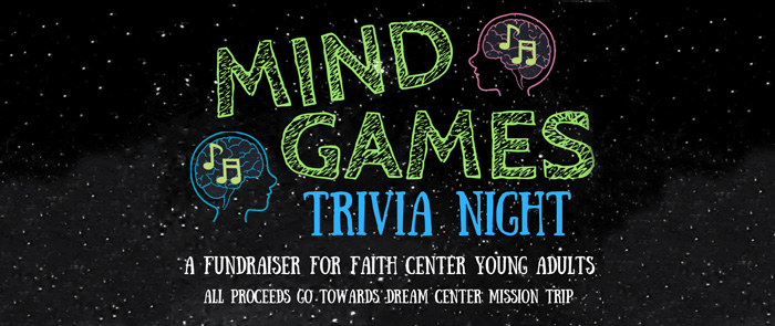 Mind Games Trivia Night logo