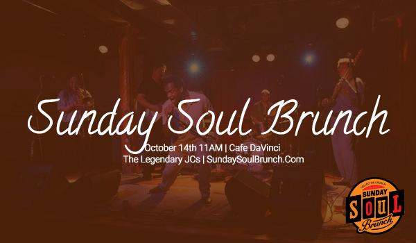 Sunday Soul Brunch | The Legendary JC's logo