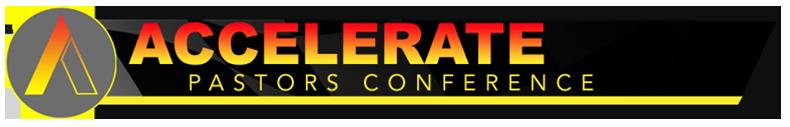 2020 Accelerate Pastors Conference logo