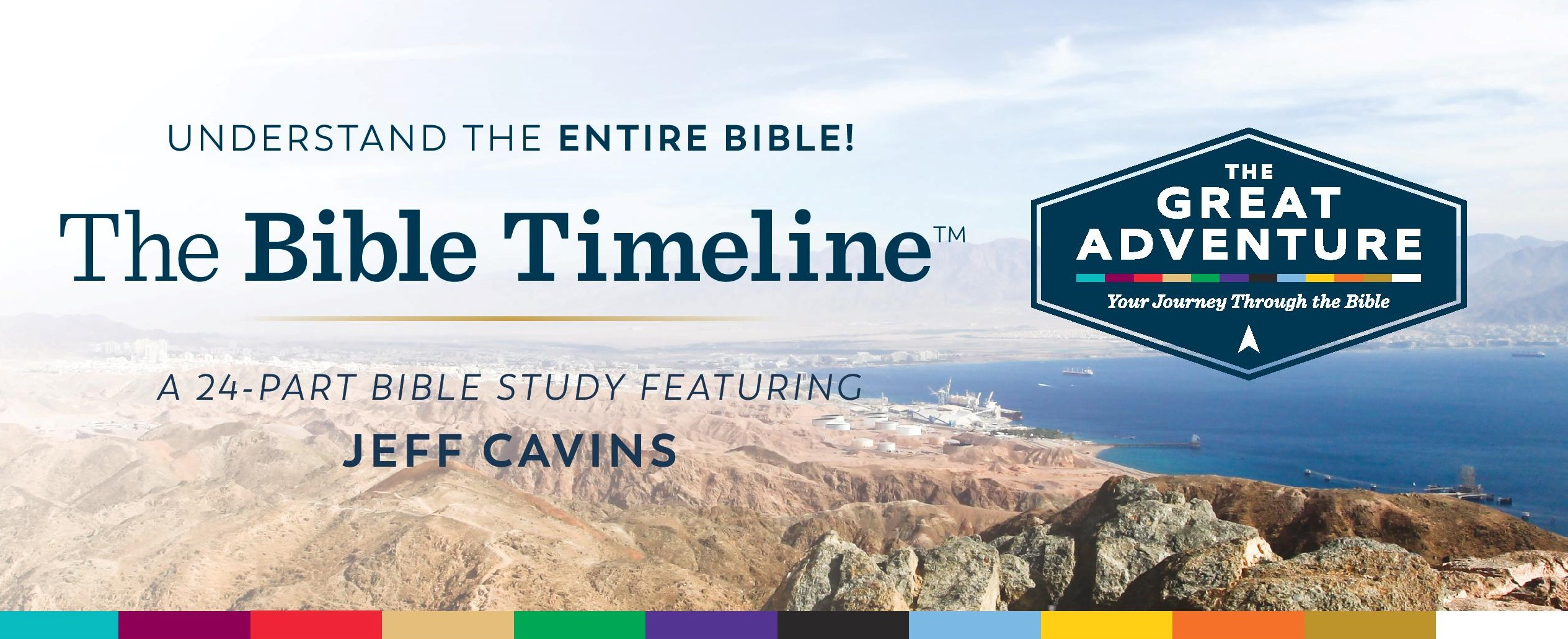 The Bible Timeline at Holy Family logo