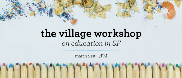 The Village Workshop on Education in SF logo