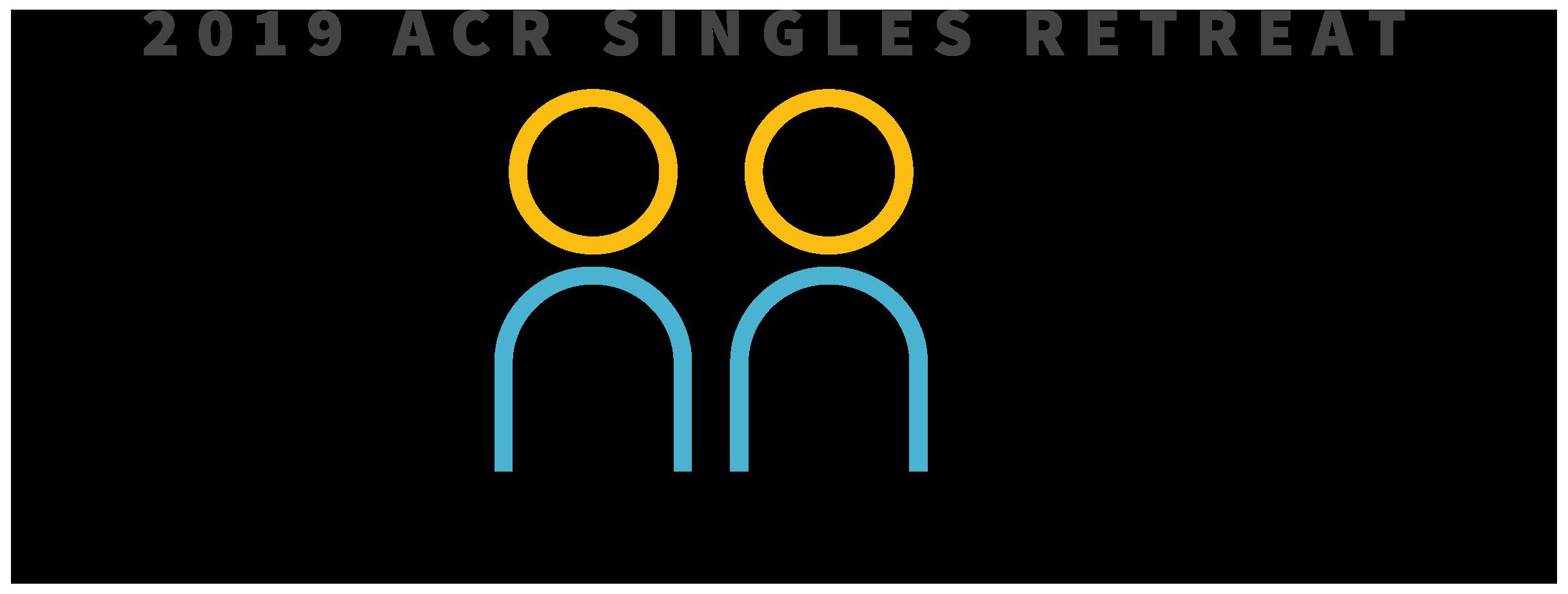 2019 ACR Singles Retreat logo