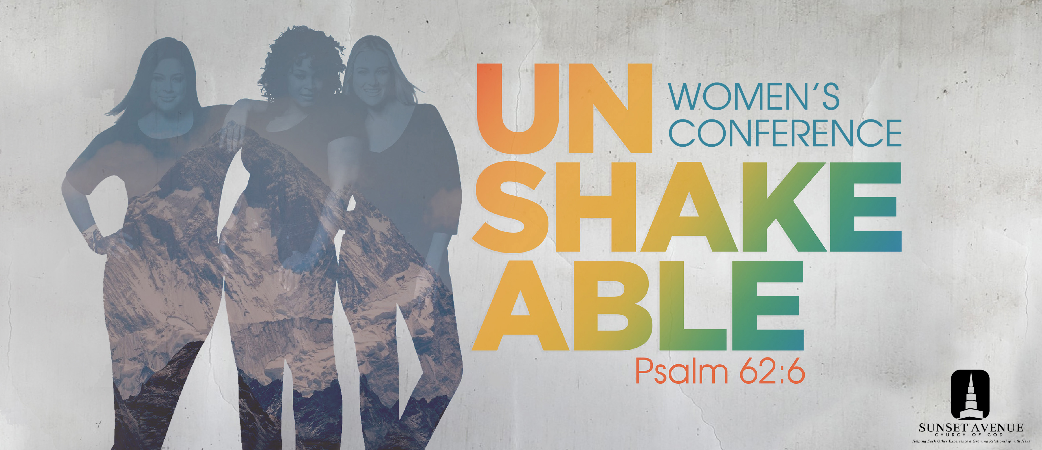 Unshakeable Women's Conference logo