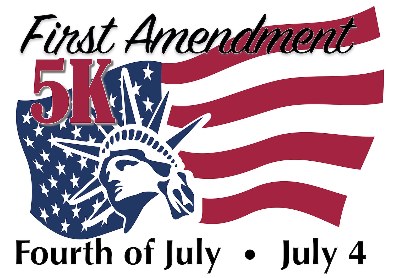 First Amendment 5K logo