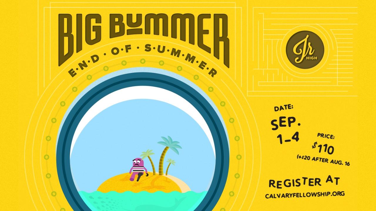 Big Bummer End of Summer 2017 logo