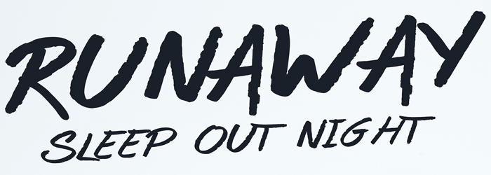 Runaway Sleep Out Night Fundraiser logo