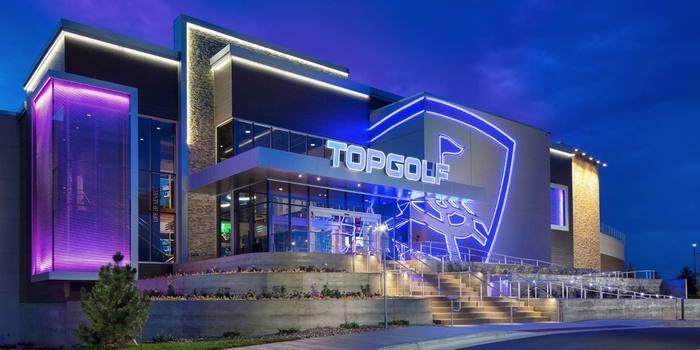 Topgolf in Dallas logo