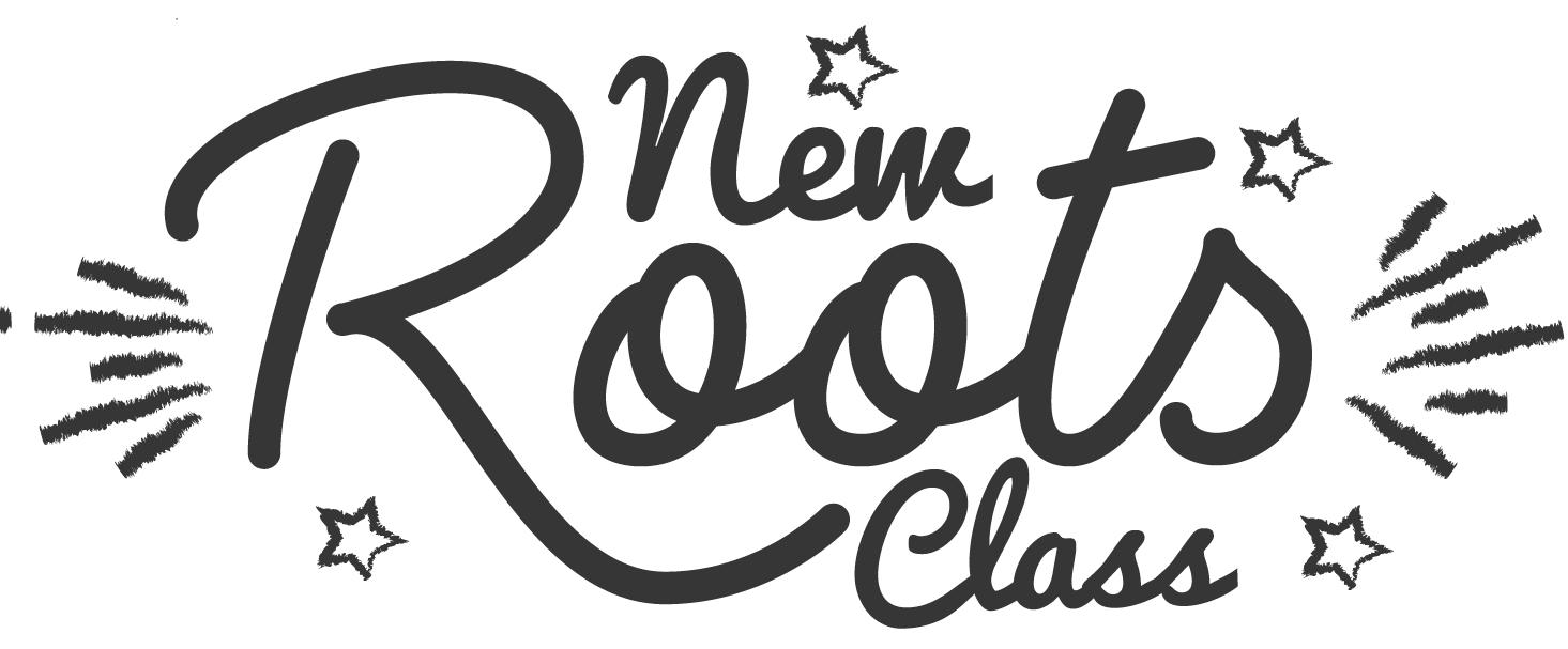 New Roots Class logo