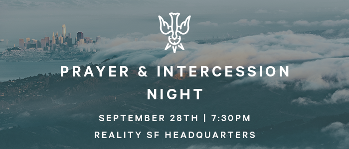 Prayer & Intercession Night logo