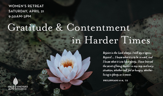Women's Half Day Retreat: Gratitude and Contentment in Harder Times logo