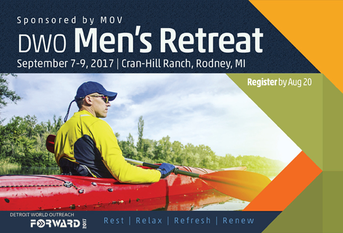DWO Men's Retreat September 7-9, 2017 logo