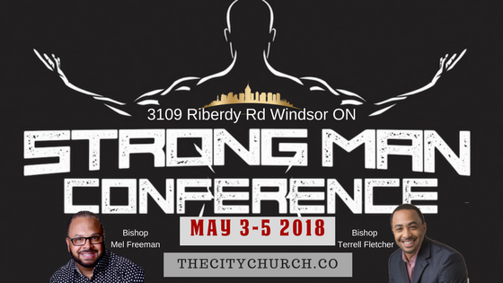 Strong Man Men's Conference 2018 logo