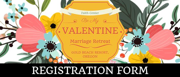 Be My Valentine Marriage Retreat logo