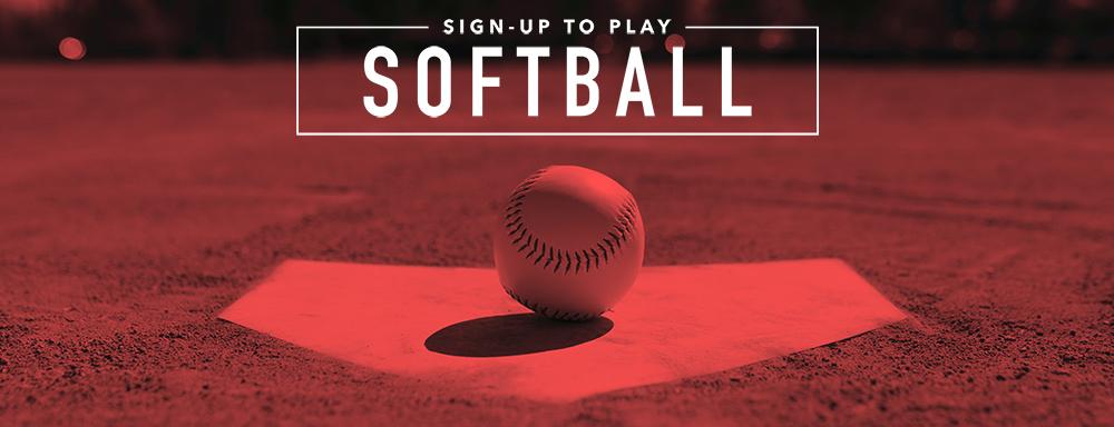 Church League Softball logo