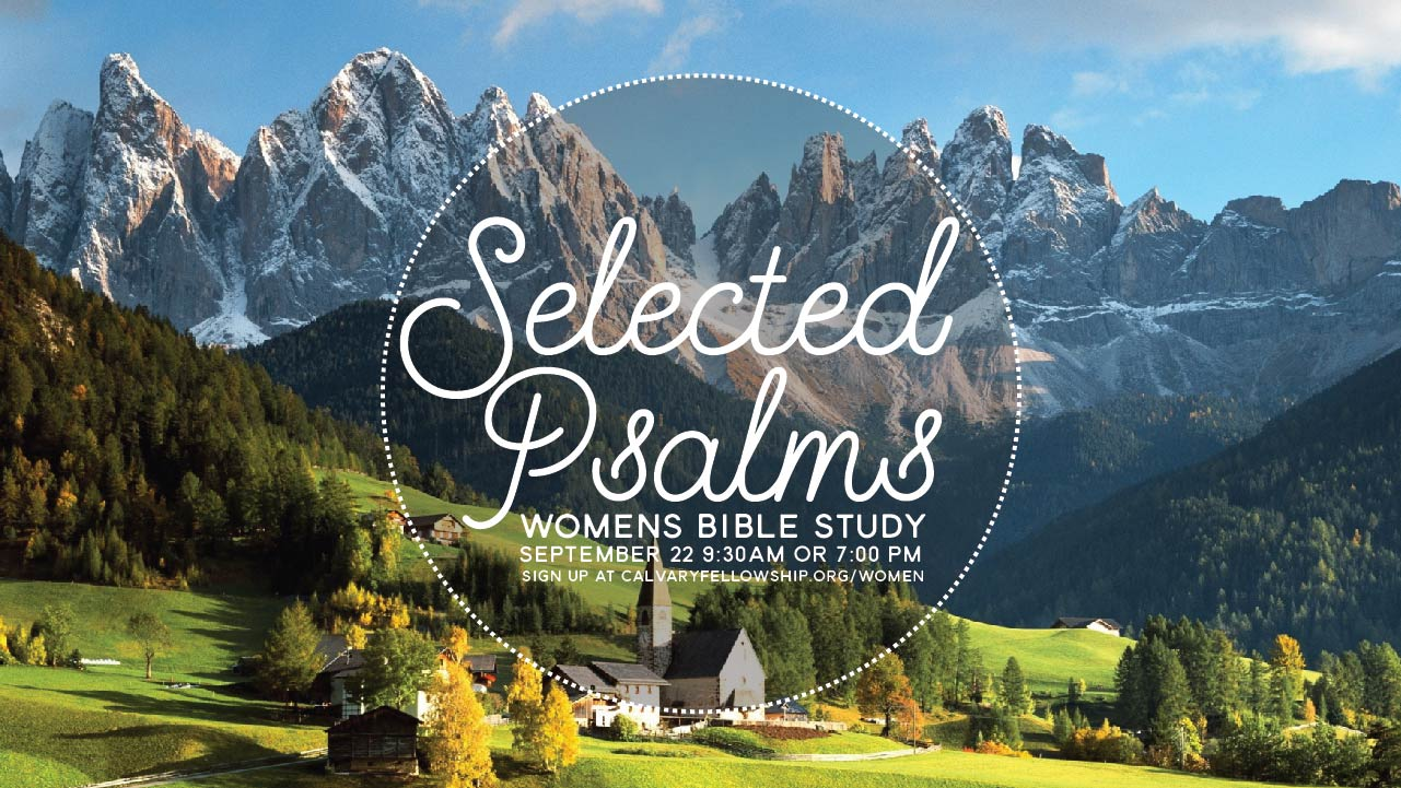 Women's Bible Study: Selected Psalms logo