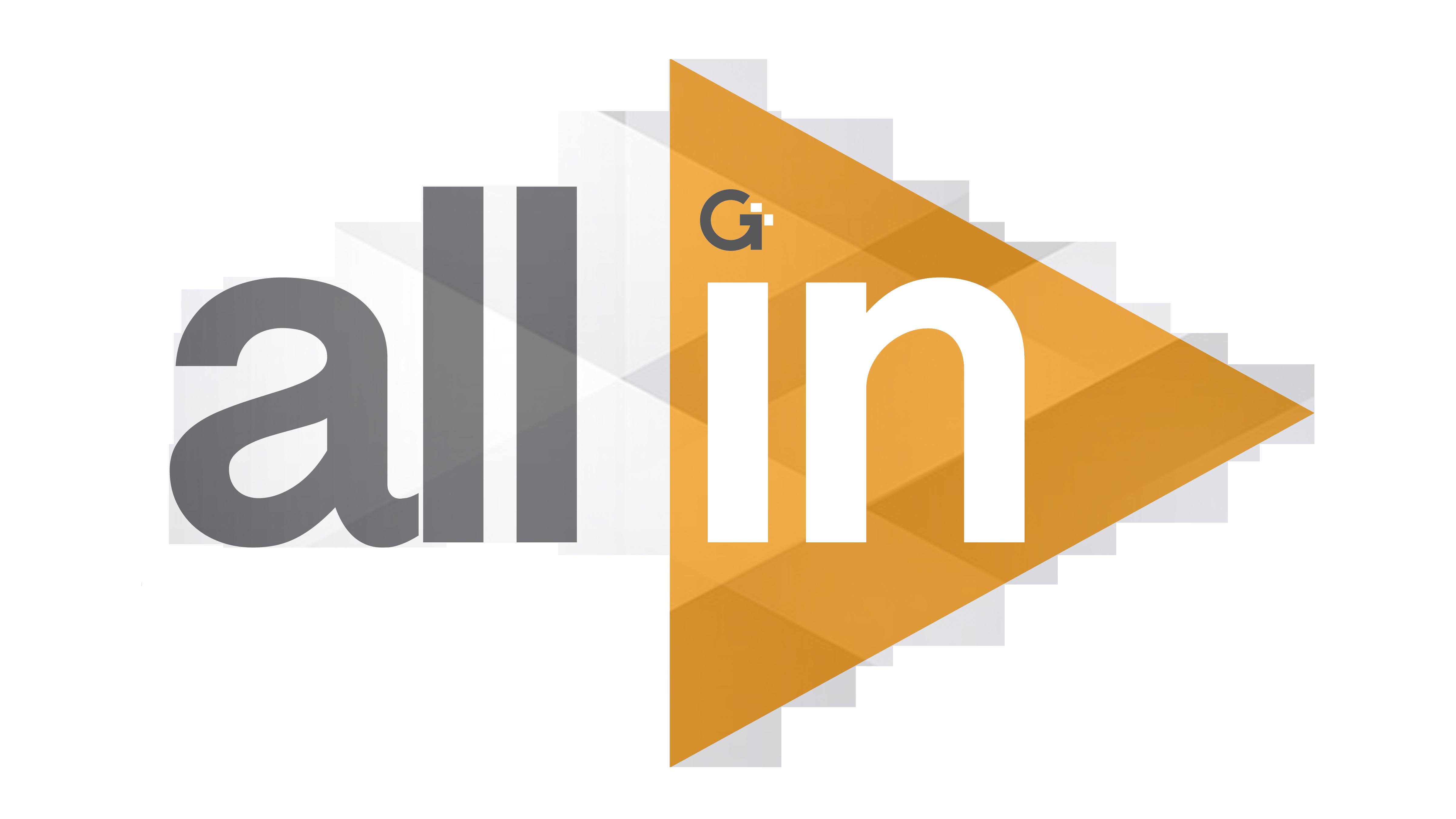 All In - October 2018 logo