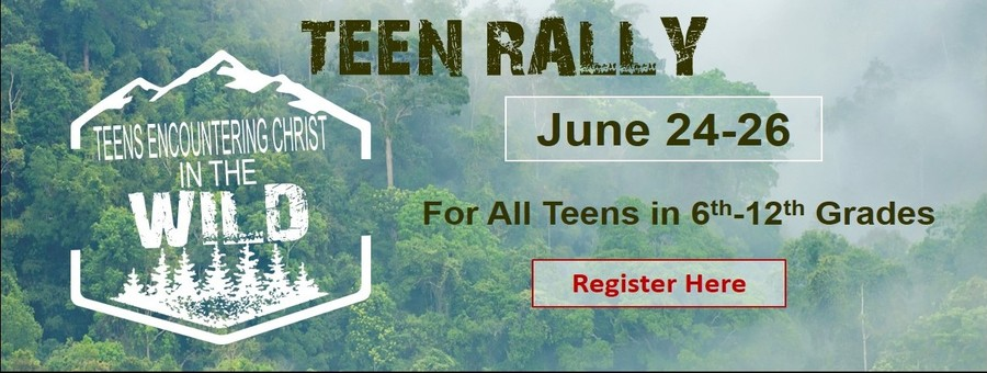Teen Rally June 24-26 logo