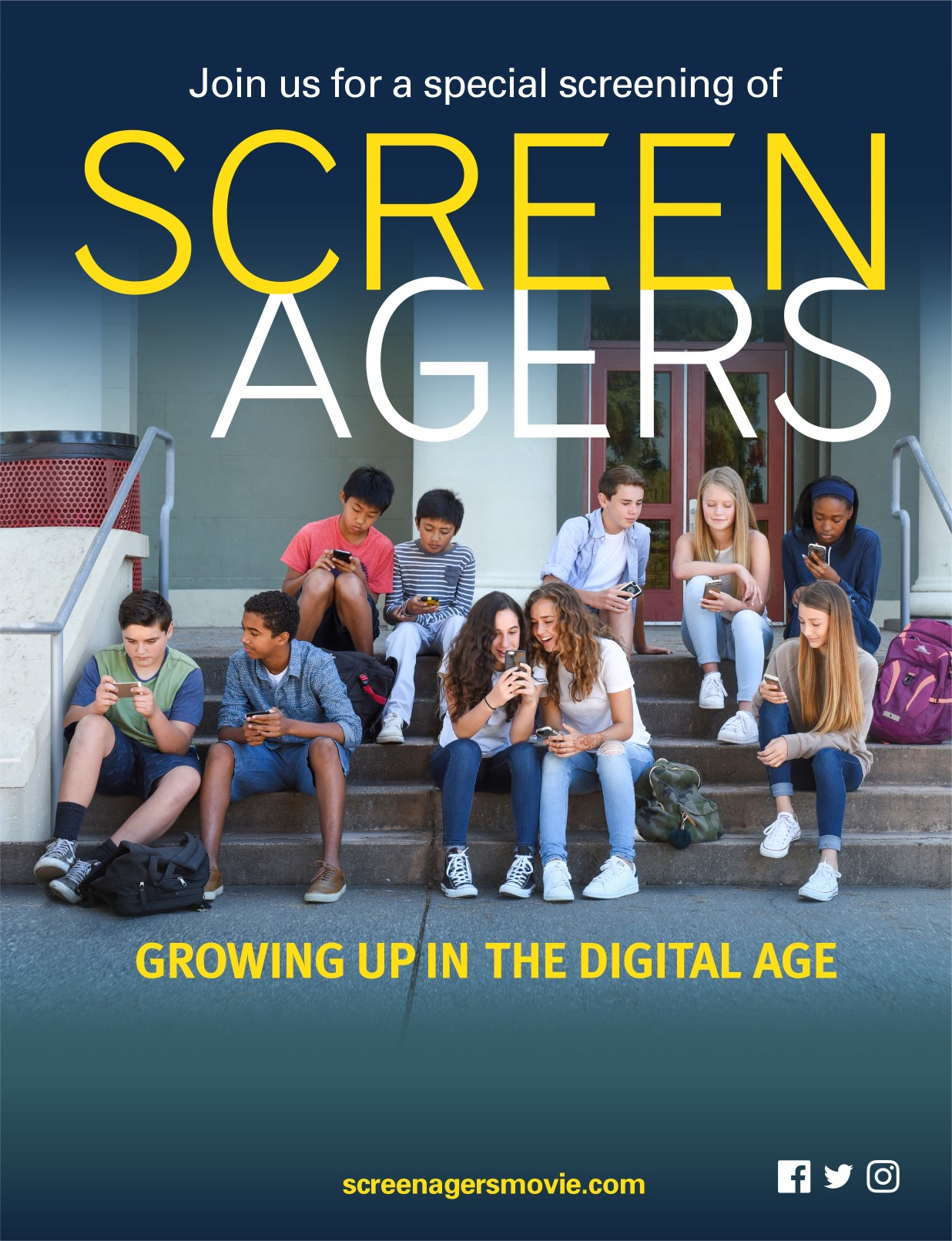 Screenagers: Documentary & Discussion (S. Forsyth) logo