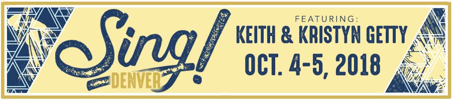 SING! Denver Evening Concert featuring Keith & Kristyn Getty logo