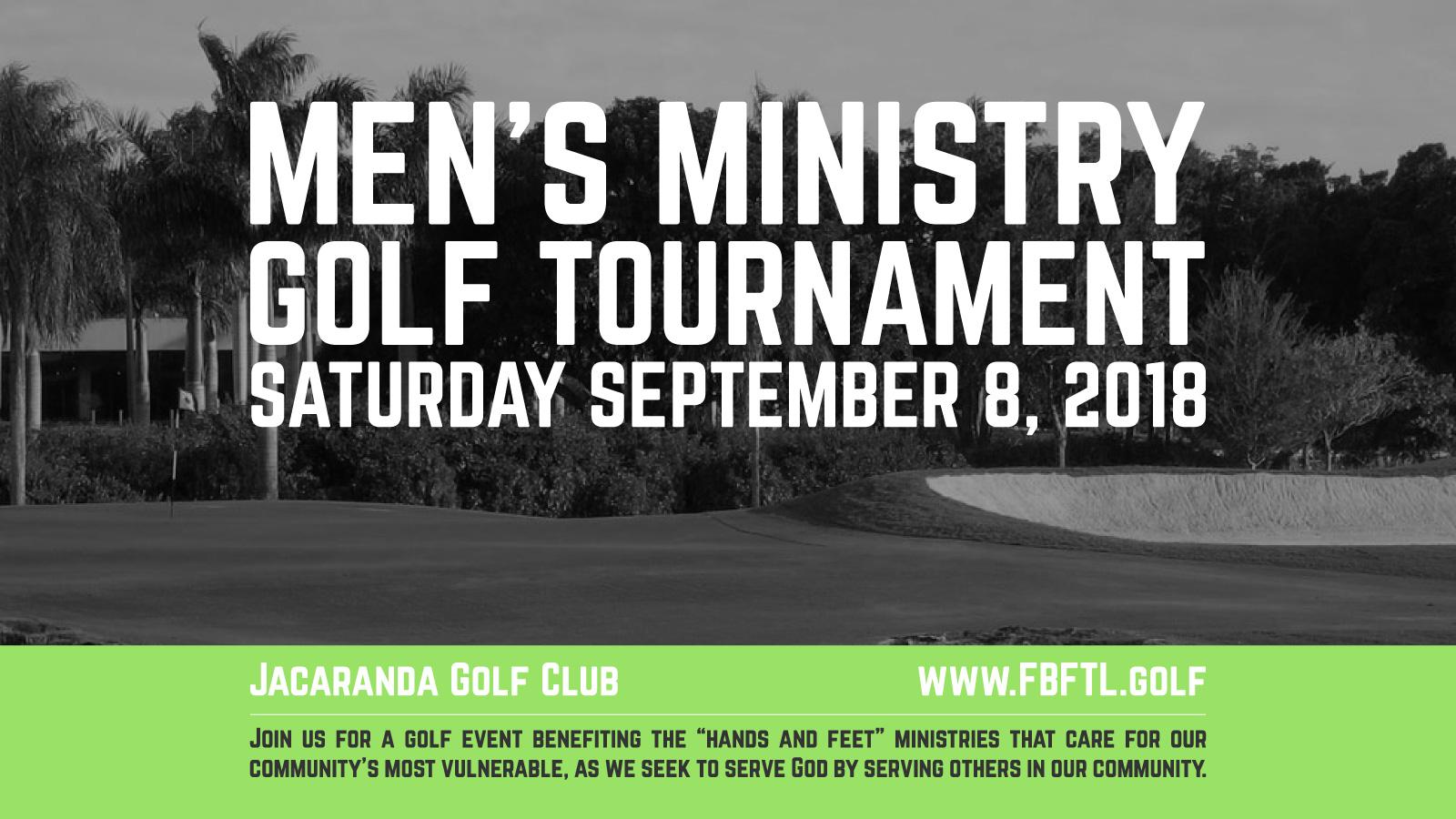 2018 FB|FTL Men's Golf - Players logo
