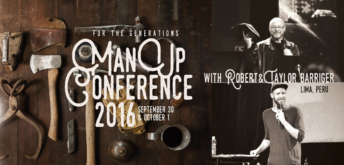 Man Up Conference 2016 logo