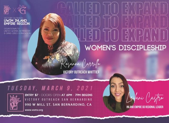 Called To Expand Women's Discipleship logo