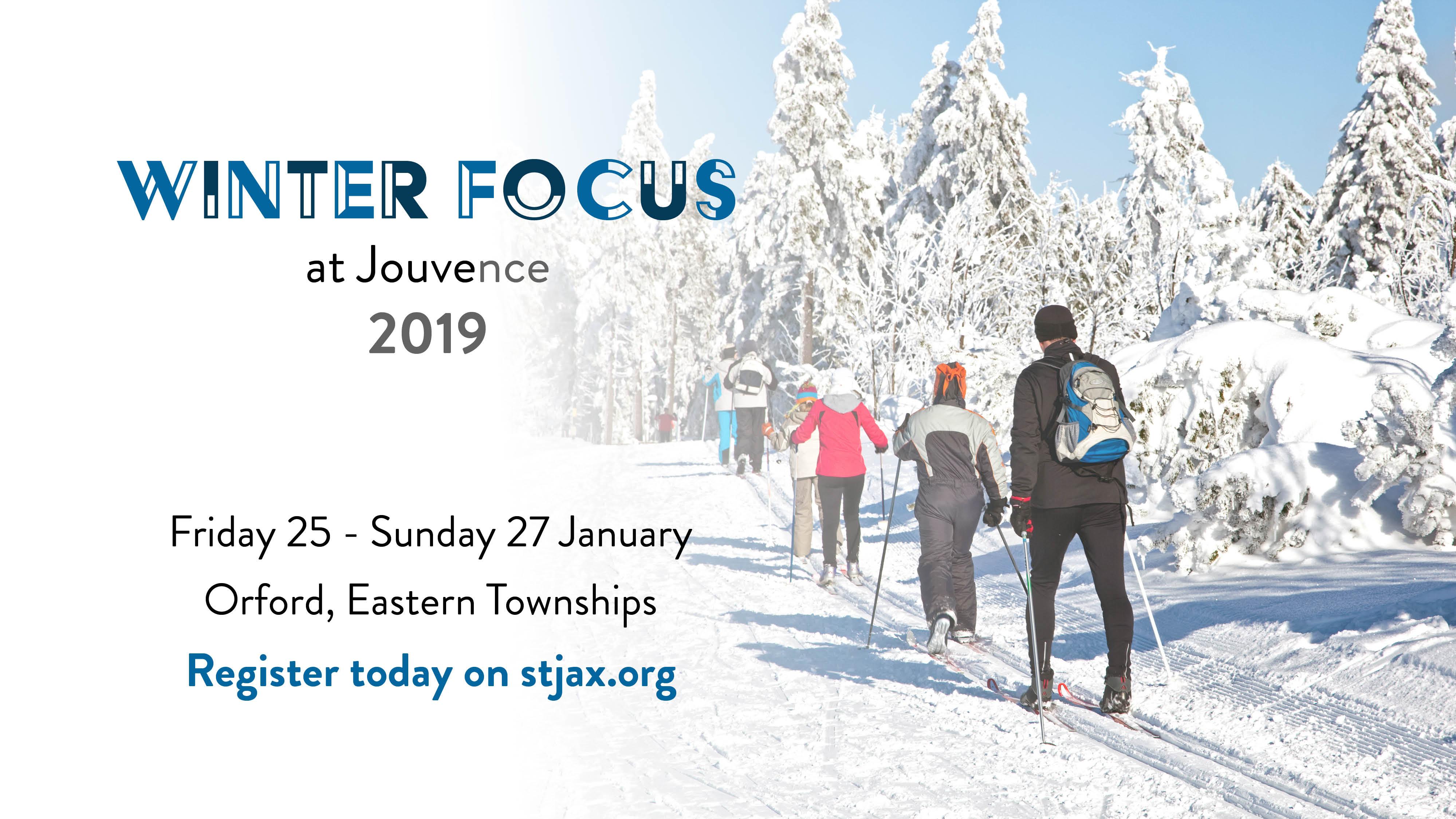 Winter Focus 2019 at Jouvence: St Jax Weekend Away logo