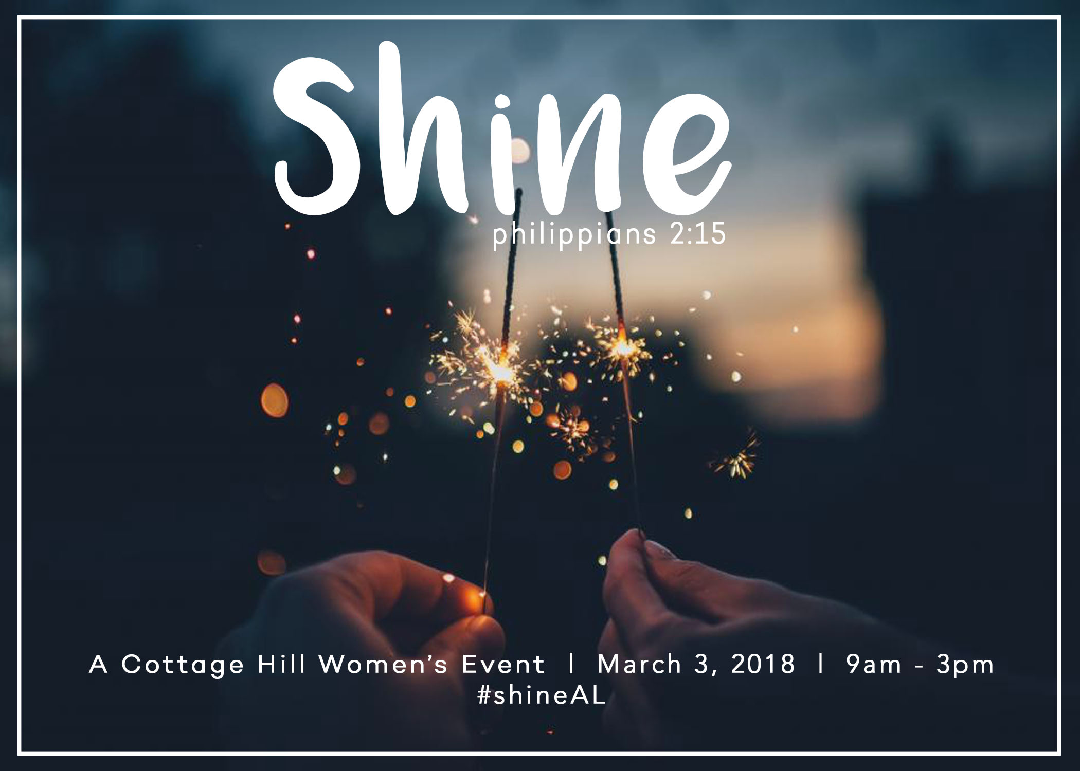 Shine: A Women's Ministry Event logo