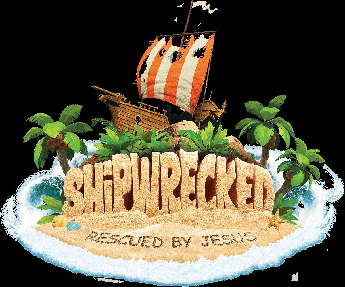 VBS 2018 - Shipwrecked logo