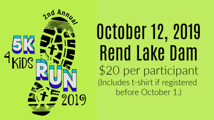 2nd Annual 5K for Kids Run logo