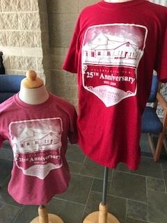 25th Anniversary T-Shirt logo