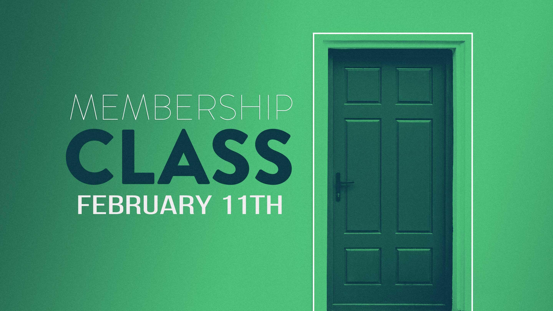 Membership Class February 2018 logo