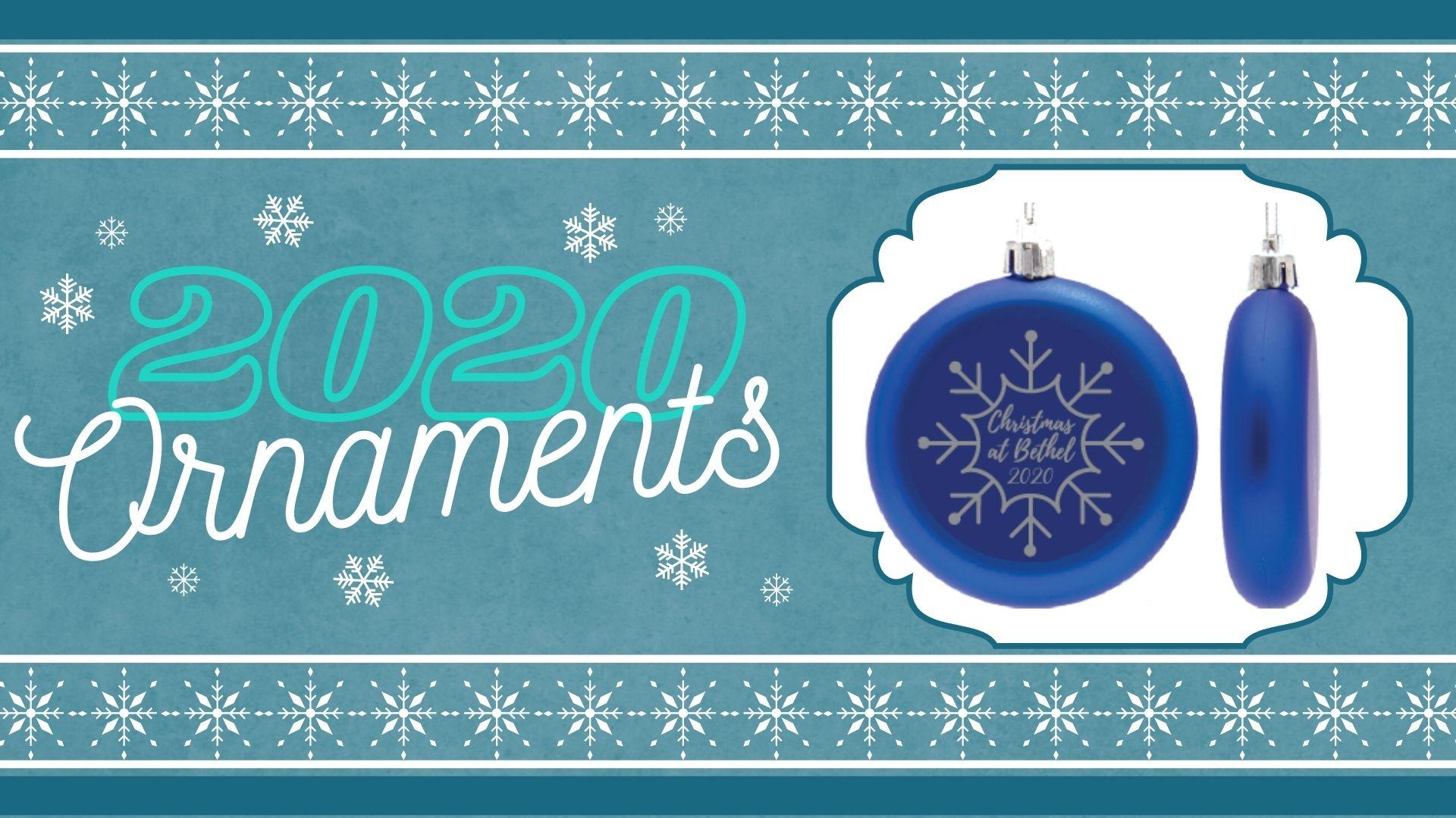 Christmas at Bethel 2020 Ornaments logo