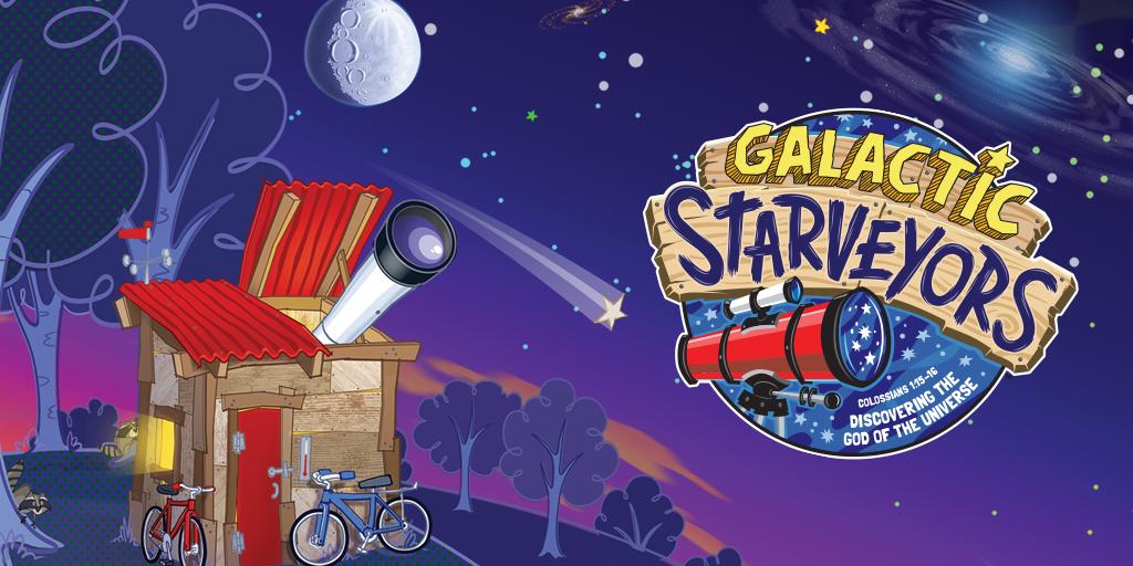 VBS Galactic Starveyors logo