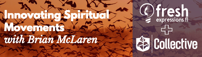 Innovating Spiritual Movements with Brian McLaren [FXFL] logo