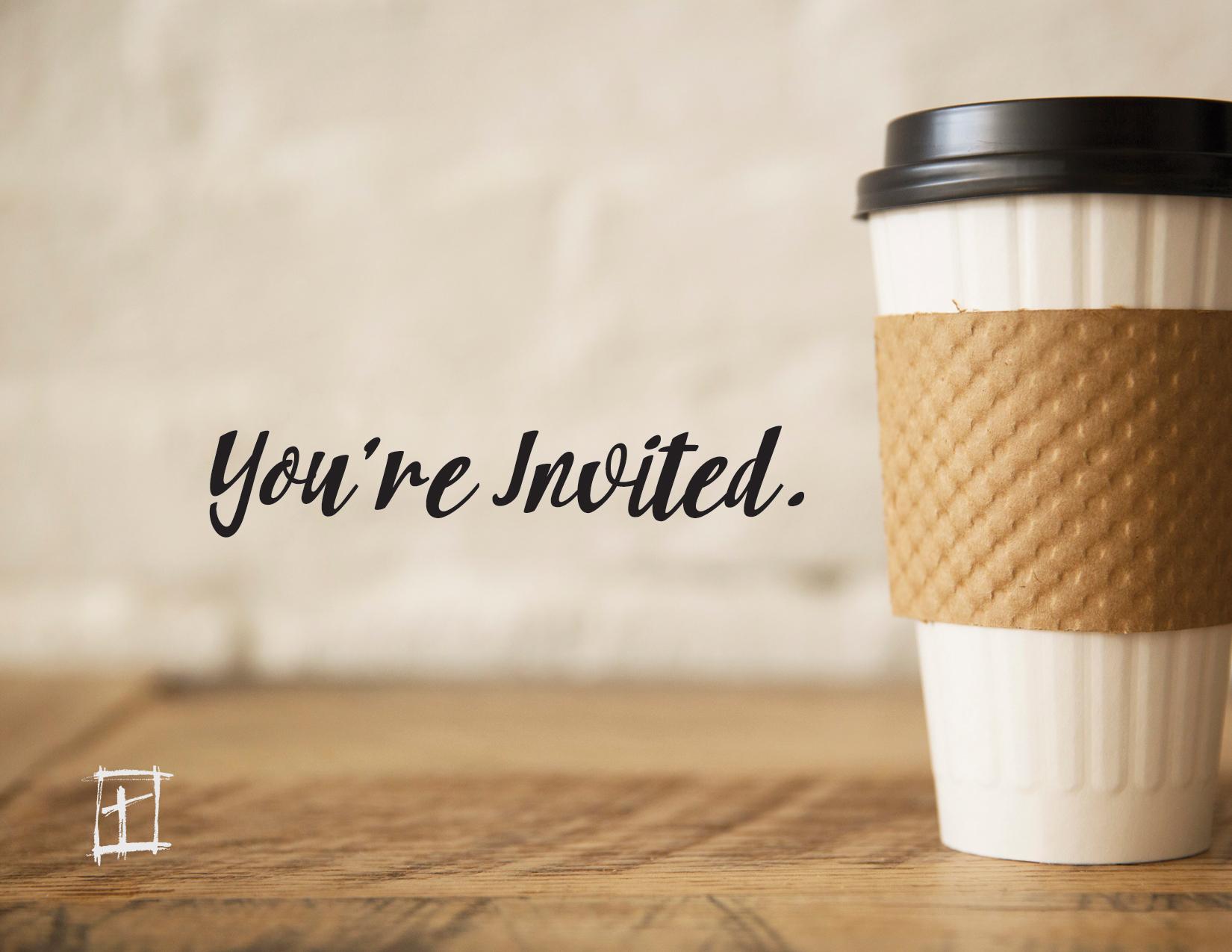 Coffee & Conversation w/ Pastor Steve logo