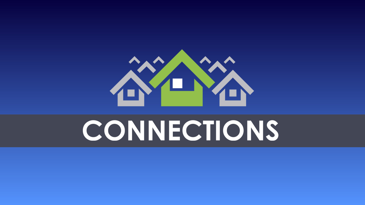 Fall 2018 Weekly Connection Groups logo