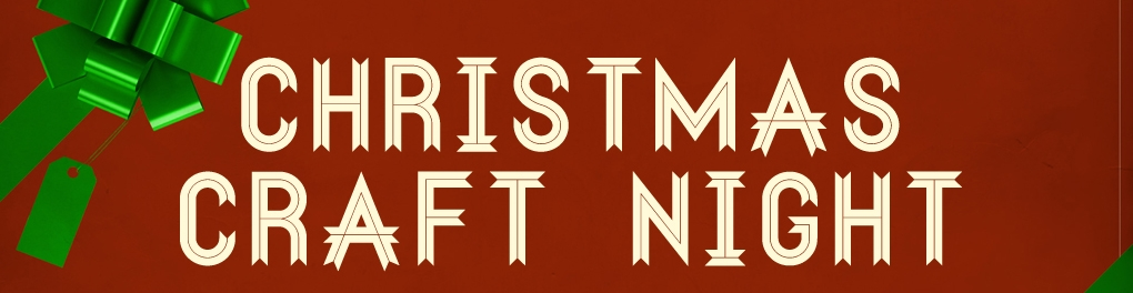 Christmas Craft Night 2018 logo