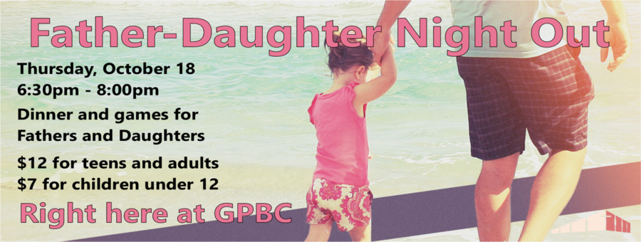 Father-Daughter Night Out logo