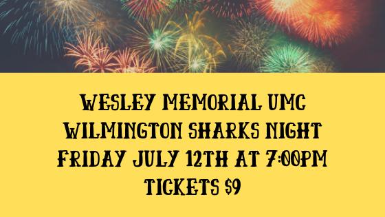 Wilmington Sharks Night 2019 logo