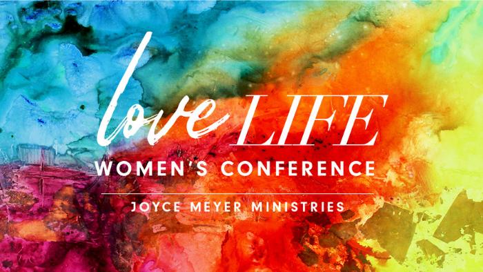 Joyce Meyer Love Life Women's Conference logo