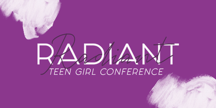 Radiant Teen Girl Conference 2019 logo