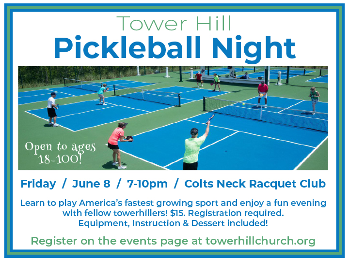 Tower Hill Pickleball Night logo
