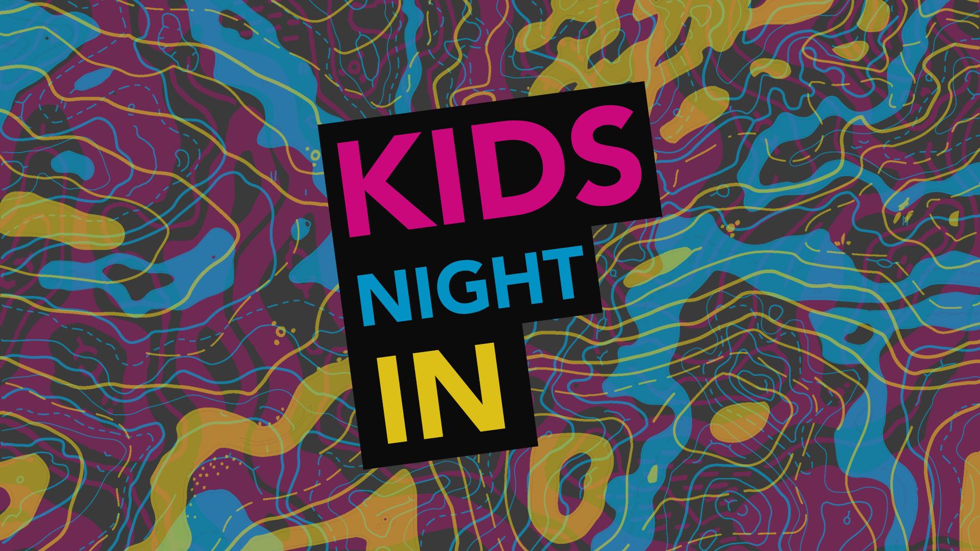 Kids Night In - October 18th logo
